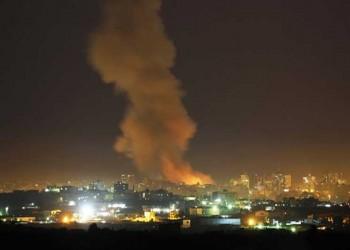 استشهاد فلسطيني وإصابة اثنين في قصف إسرائيلي على قطاع غزة