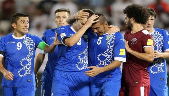 فيديو.. منتخب قطر يخسر أمام أوزبكستان ويودع تصفيات المونديال