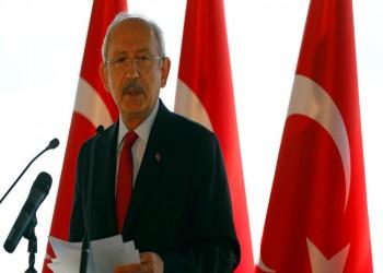 أكبر حزب تركي معارض يهدد بالانسحاب من البرلمان مطالبا بإعادة الاستفتاء