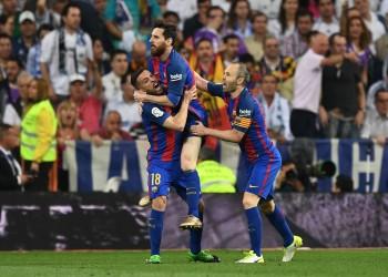 «ميسي» يصعق «ريال مدريد» ويقفز بـ«برشلونة» إلى قمة «الليغا»