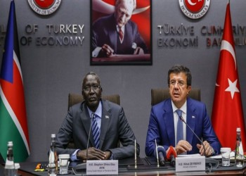 تركيا وجنوب السودان يوقعان اتفاقية للتعاون اقتصادي