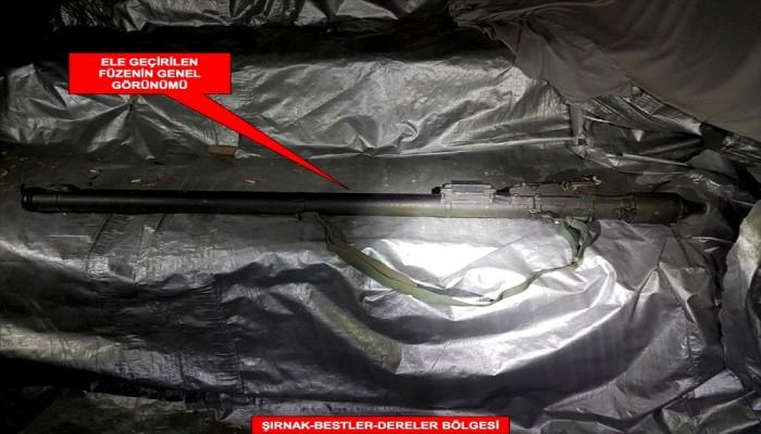 تركيا.. ضبط صاروخ روسي مضاد للطائرات في مغارة لمسلحي «بي كا كا»