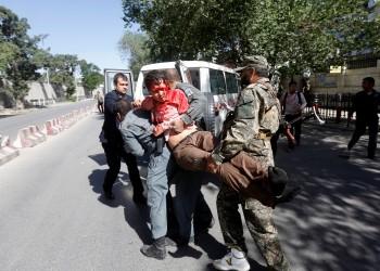 تضرر مباني سفارتي الإمارات ومصر في تفجير استهدف الحي الدبلوماسي بكابول