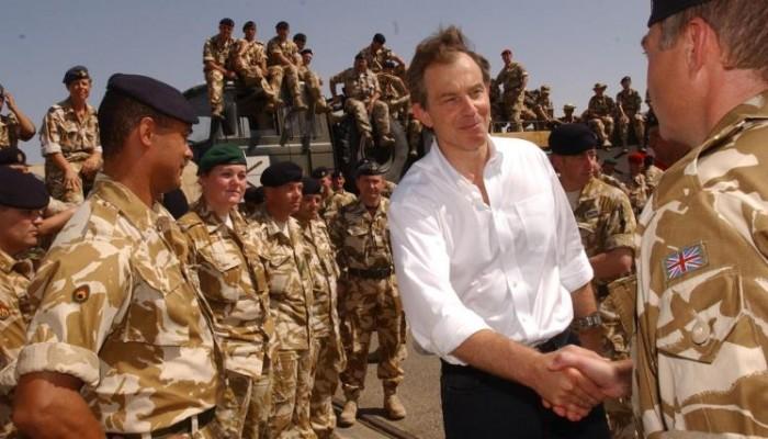 تشيلكوت توني بلير لم يكن صريحا بشأن حرب العراق الخليج الجديد