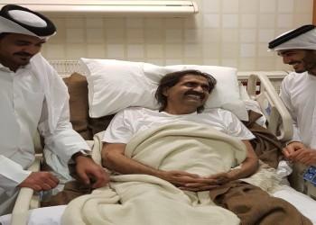 أمير قطر السابق يجري جراحة بسبب شرخ بالساق