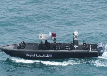 قطر تختتم تمرينا بحريا عسكريا مع بريطانيا (صور)
