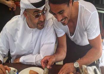 بالصور .. «بن زايد» يتناول غداءه في مطعم تركي شهير