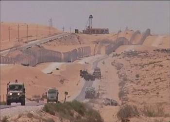 (إسرائيل) تخطط لبناء جدار عازل أسفل الأرض مع مصر