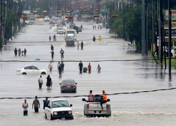 120 عائلة سعودية متضررة في تكساس بسبب إعصار «هارفي»
