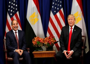 «ترامب»: ندرس استئناف مساعدات عسكرية معلقة لمصر