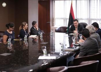 «السراج» يطالب أمريكا بدعم رفع حظر السلاح عن ليبيا