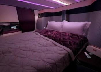 الخطوط القطرية تطلق أول غرفة نوم في العالم على طائراتها