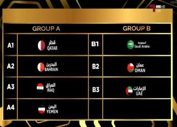 قطر تصطدم بالبحرين.. والسعودية والإمارات بمجموعة واحدة في «خليجي 23»
