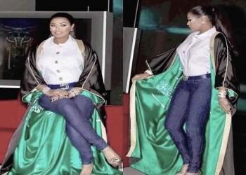 الفنانة السعودية وعد ترد على منتقدي ملابسها باليوم الوطني