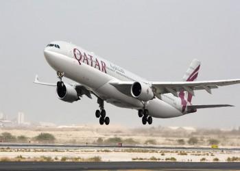 الإعلام السعودي يفبرك صورة لطائرة قطرية في مطار إسرائيلي