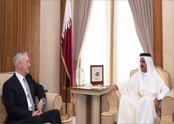 أمير قطر وماتيس يبحثان الشراكة الاستراتيجية والأزمة الخليجية
