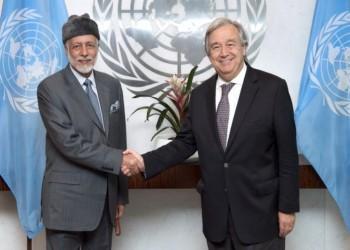 بن علوي وغوتيريس يبحثان الأزمة اليمنية