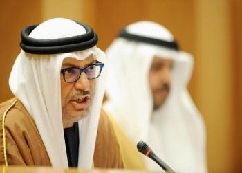 قرقاش: ملف قطر لم يعد من أولويات الدول الأربع