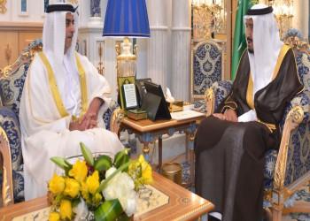 الملك «سلمان» يبحث مع وزير داخلية الإمارات العلاقات المشتركة
