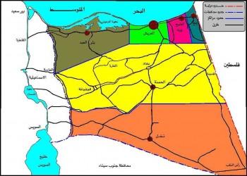 مصر تمدد حظر التجوال في مناطق بـ«شمال سيناء»