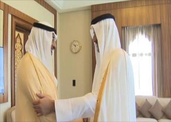 أمير قطر يبحث مع وزير الخارجية الكويتي الأزمة الخليجية