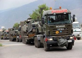 الجيش التركي يواصل تحركاته في هطاي الحدودية مع سوريا