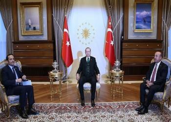 «أردوغان» يستقبل وزير الخارجية القطري في أنقرة