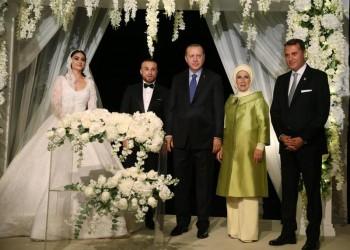 «أردوغان» شاهد على عقد قرآن بطلة مسلسل «أرطغرل»