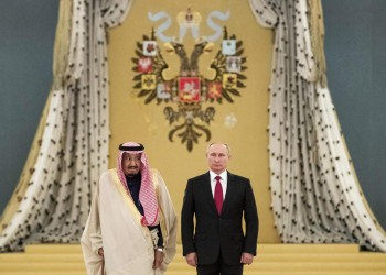 السعودية تقر بالنفوذ الروسي في الشرق الأوسط