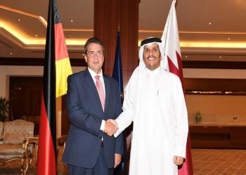 وزير خارجية قطر يبحث مع نظيره الألماني تطورات الأزمة الخليجية