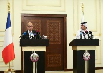 وزيرا خارجية قطر وفرنسا يبحثان هاتفيا تطورات الأزمة الخليجية
