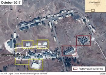 بالصور.. إيران تنشئ قاعدة عسكرية دائمة جنوبي دمشق