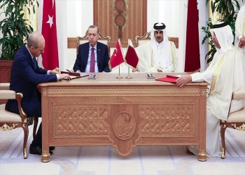 أمير قطر و«أردوغان» يشهدان توقيع اتفاقيات حيوية واقتصادية وثقافية