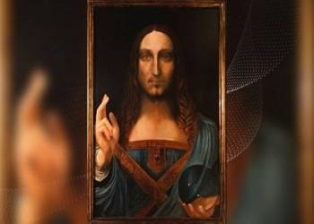 بيع لوحة لـ«دافنشي» بـ450 مليون دولار بمزاد علني بأمريكا