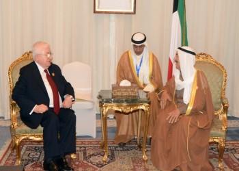 الرئيس العراقي يزور الكويت لبحث إعادة الإعمار وملف التعويضات