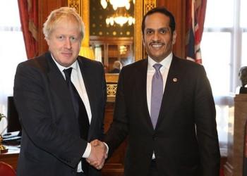 وزير الخارجية القطري يبحث تطورات الأوضاع الخليجية مع نظيره البريطاني