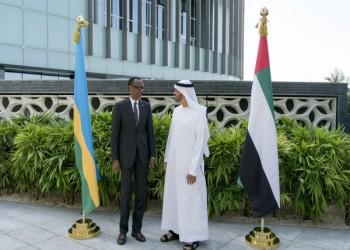 «محمد بن زايد» يبحث مع رئيس رواندا تعزيز علاقات بلديهما