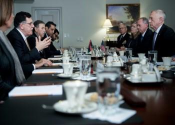 «السراج» يطالب واشنطن برفع جزئي لحظر السلاح على ليبيا