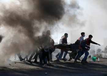 إصابة 97 فلسطينيا خلال مواجهات بالقدس والضفة وغزة