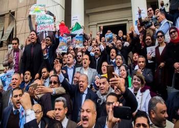 بعد «الصحفيين» والجامعات.. «المحامين» المصرية تتظاهر من أجل القدس