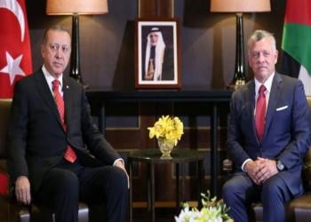 عاهل الأردن و«أردوغان» يبحثان هاتفيا تطورات القدس