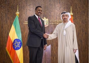 وزيرا خارجية الإمارات وإثيوبيا يبحثان العلاقات الثنائية
