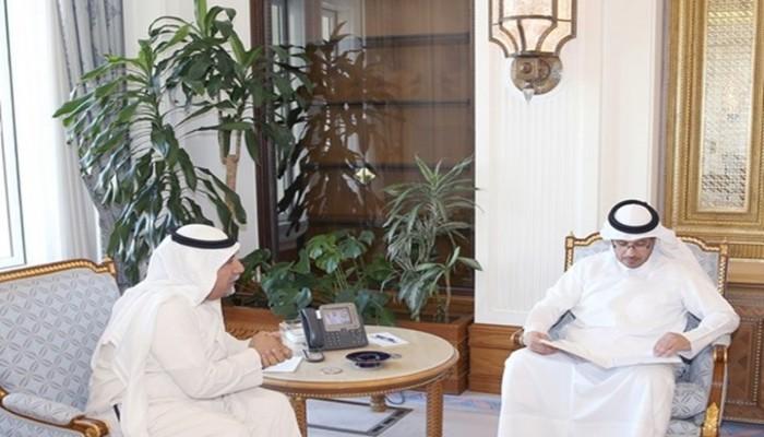 رئيس الوزراء القطري يتلقى رسالة خطية من نظيره الكويتي