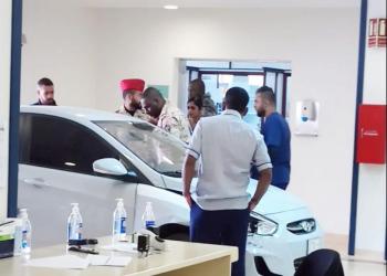 رجل يقتحم مستشفى «الحرس الوطني» في الرياض بسيارته