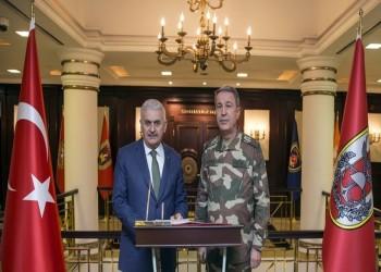 رئيس الوزراء التركي يعلن عبور جيش بلاده إلى عفرين السورية