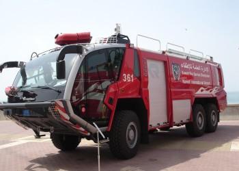 التحقيق مع مسؤولي سيارة «إطفاء بلا ماء» بعد حادث بالكويت