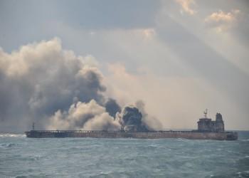 غرق مدمرة إيرانية ببحر قزوين بعد 3 أسابيع من تعرضها لحادث