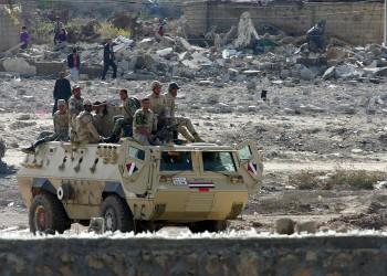 إصابة 3 مجندين في هجوم على نقطة تفتيش بسيناء