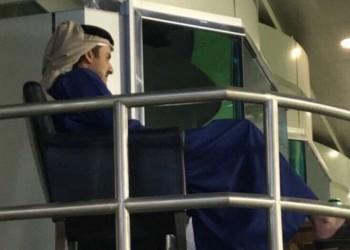 أمير قطر يحضر مباراة الكلاسيكو بين السد والريان