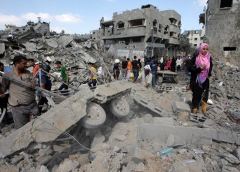 قطر تدعو إلى إغاثة غزة وتحذر من حرب جديدة